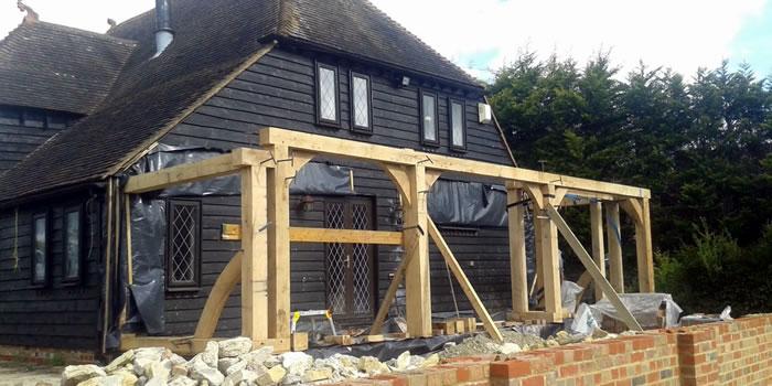 Oak Framed Extensions Kent