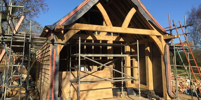 Oak Framed Garden Buildings Kent